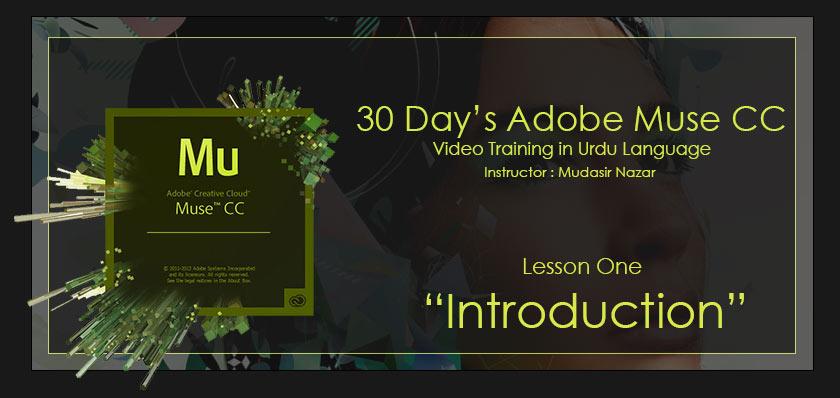 Adobe Muse urdu tutorials